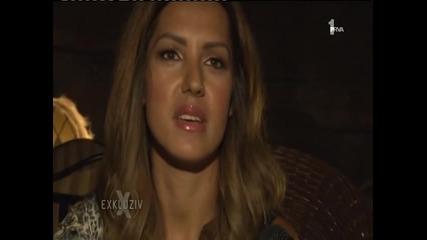 Tanja Savic - (Sa snimanja za Story Exkluziv 05.09.2014 TvPrva)