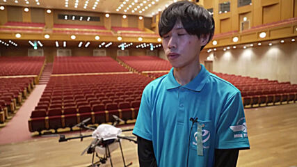 Japanese companies launch drone service to coat event venues with disinfectant