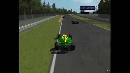 Бгф1 2007 - Белгия, начало на състезанието