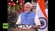 India: PM Modi welcomes German Chancellor Merkel to India