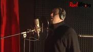 Еленко Ангелов в звукозаписно студио