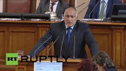 Бойко Борисов се надява, че санкциите на ЕС срещу Русия ще бъдат вдигнати до края на 2015г.