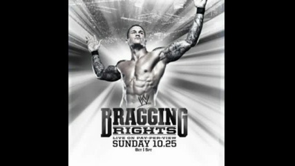 Wwe Bragging Rights 2010 Official Theme Song and Poster