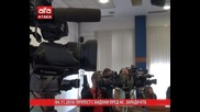 Протест с бидони пред Нс, заради Ктб, 04.11.2014г.