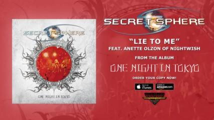 Secret Sphere feat. Anette Olzon - Lie To Me ( Studio Version Official Audio)