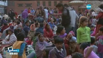 Броят на жертвите в Непал продължава да расте