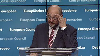 Belgium: EP President Schulz ready to 'listen' to Nicola Sturgeon