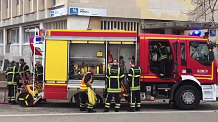 France: Explosion and fire strikes Lyon university, injuring three