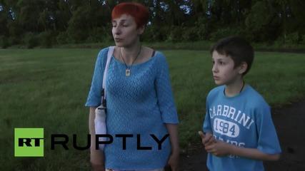 Ukraine: Shells strike home in Donetsk's Kirovskiy District