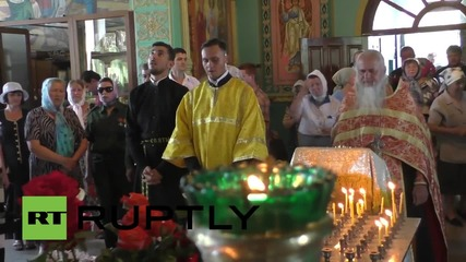 Ukraine: Hundreds commemorate Debaltsevo shelling victims one year on