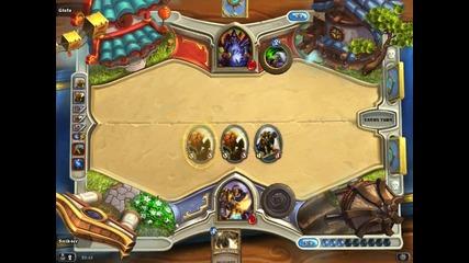 Paladin vs Warlock (hearthstone)