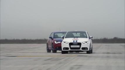 Audi A1,а ти за кой си Barca или Real!?