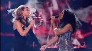 Beyonce & Alexandra Burke - Listen LIVE @ X Factor 08