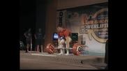 Ivaylo Hristov tqga 342.5kg