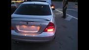 Mercedes C32 Amg vs Лада 2113 201hp