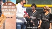 The Kardashians enlist A-Rod as their softball coach