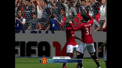 Fifa 14 Demo - Гол на Фелайни.