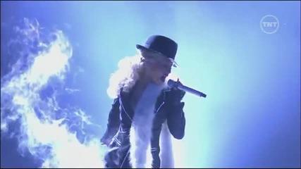 Christina Aguilera - Ain't No Other Man на живо