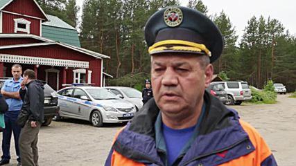 Russia: EMERCOM secure accident site after deadly Karelia lake tragedy