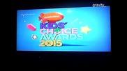 Kids Choise Awards 2015 - промо 3 бг аудио