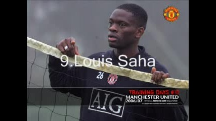 Man Utd Team 07/08
