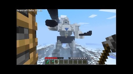 Megatron Minecraft Fort