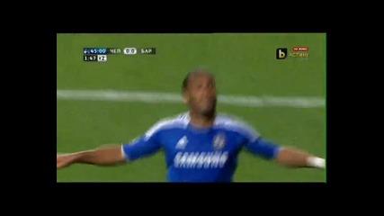Chelsea 1-0 Barcelona (drogba Goal)