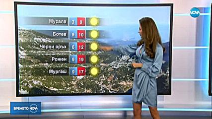 Прогноза за времето (21.10.2019 - централна емисия)