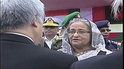 Bangladesh: Prime Minister Sheikh Hasina pays respects to victims of Dhaka attack