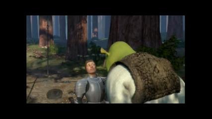 Най - яките изцепки в Shrek част 1 100 % смях