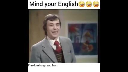Забавен урок по английски!смях!не е за изпускане!