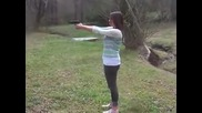 Girl shooting 9mm Sig Sauer P239 Omg!!!!