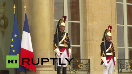 France: Spanish royals welcomed by President Hollande