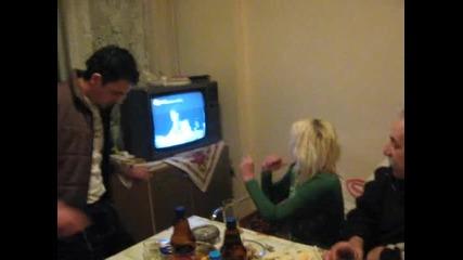 Бизончето и компания - house party