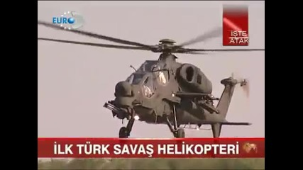 Best Attack Helicopter in the World Turkish Atak (t-129 )