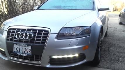 Audi S6 V10 Студен Старт *hd*-качество!