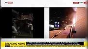 Ексклузивни Кадри От Пожара Във Дубай