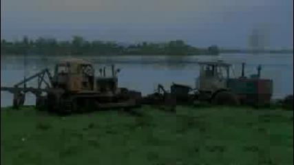 Nissan Patrol и Трактор