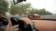 Ferrari 458 vs Lamborghini Lp700-4 Aventador
