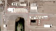 USA: Satellite images of Texas migrant child detention centre *STILLS*