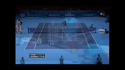 Джокович отвя Надал на финала в Лондон