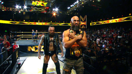 Aleister Black promises to make Tommaso Ciampa's NXT Title reign fade to black: WWE NXT, Jan. 23, 2019