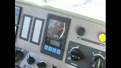 Трамвай Т8м - 700it По Време На Проба