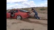 car stuck girls 2