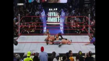 John Cena Back To Royal Rumble 2008