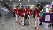 Brazil: Russian beach volleyball team arrives in Rio for Olympics