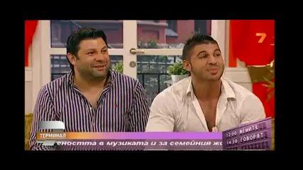 Тони Стораро & Фики в Жените говорят - Терминал 7 - Tv7 (14.07.2013)