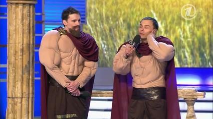 300 Спартанци в Русия