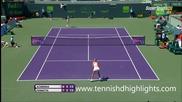 Flavia Pennetta vs Victoria Azarenka - Miami 2015