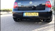 Golf R32 exhaust sound ... !